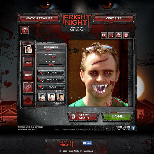 Fright Night movie apps