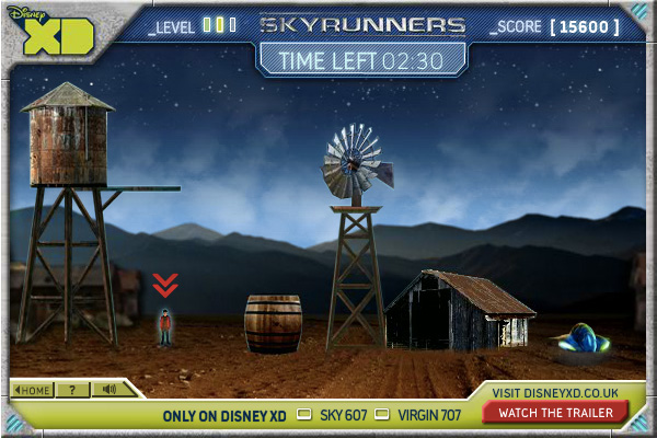 Skyrunners gameplay level 2
